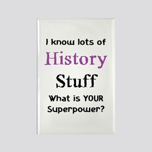 history dates Rectangle Magnet