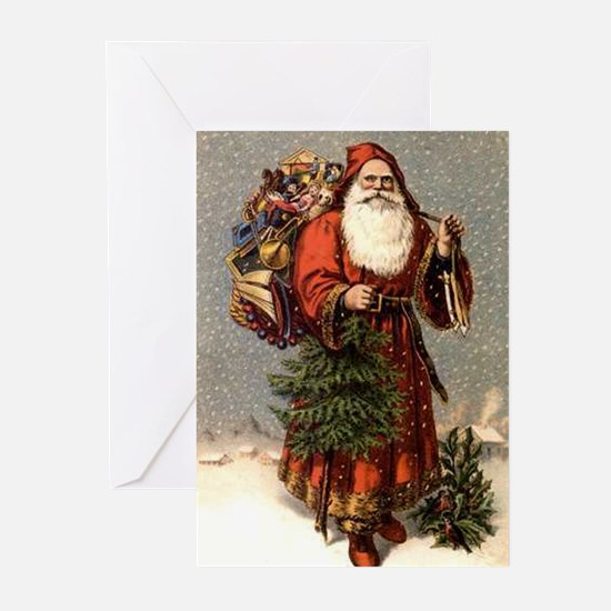 Father Christmas Greeting Cards (Pk of 20)