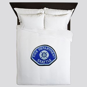 Seattle Fire Department Queen Duvet