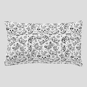 Doodle Cats Pillow Case