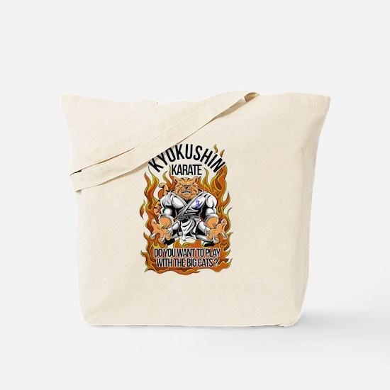 Cool Kyokushin karate Tote Bag