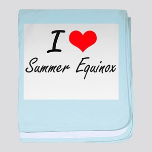 I love Summer Equinox baby blanket