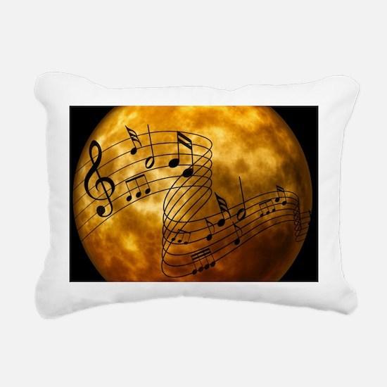 Clef Rectangular Canvas Pillow