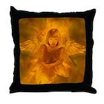 #108 Angel : Throw Pillow