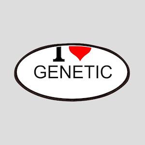 I Love Genetics Patch