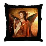 #190 Angel : Throw Pillow