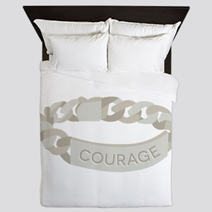 Courage Bracelet Queen Duvet
