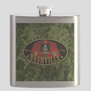 I Love Nashville-04 Flask