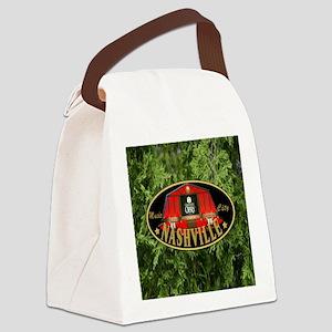 I Love Nashville-04 Canvas Lunch Bag