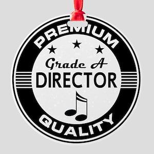 Music Director Gift Idea Ornament