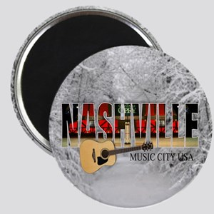 Nashville Music City-CO1 Magnet