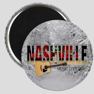 Nashville Music City-CO1 Magnet