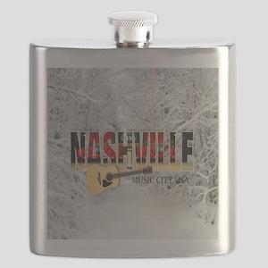Nashville Music City-CO1 Flask