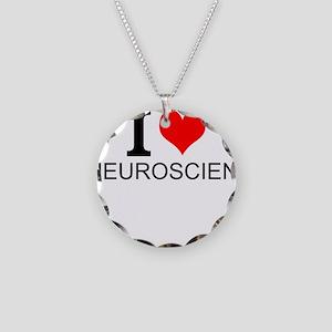 I Love Neuroscience Necklace