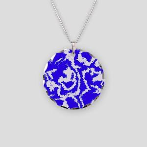 Migraine Necklace Circle Charm