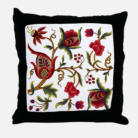 Princess Anne Embroidery Throw Pillow