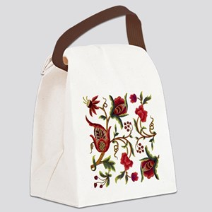 Princess Anne Embroidery Canvas Lunch Bag