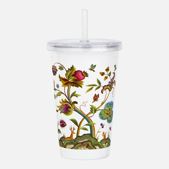 Tree of Life Embroider Acrylic Double-wall Tumbler