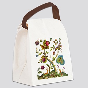 Tree of Life Embroidery Canvas Lunch Bag