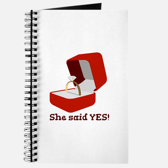 She Said Yes Journal