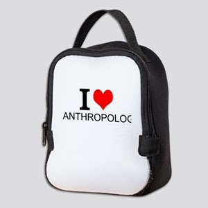 I Love Anthropology Neoprene Lunch Bag