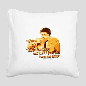 Cheers: Norm Life Square Canvas Pillow