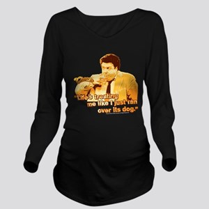Cheers: Norm Life Long Sleeve Maternity T-Shirt