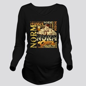 Cheers: Norm Long Sleeve Maternity T-Shirt