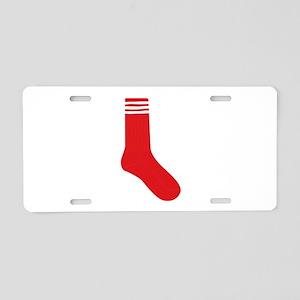Crew Sock Aluminum License Plate