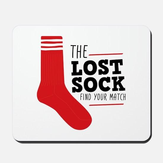 Lost Sock Mousepad