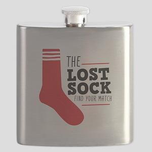 Lost Sock Flask
