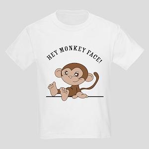 Monkey Face Kids Light T-Shirt