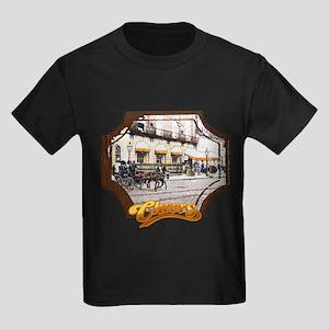 Cheers Opening Horse Kids Dark T-Shirt