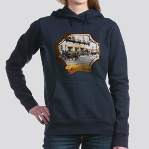 Cheers Opening Horse Women's Hooded Sweatshirt