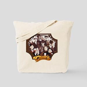 Cheers Opening Vintage Tote Bag