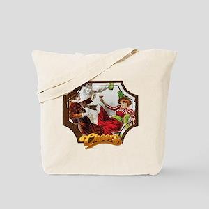 Cheers Opening Saloon Girl Tote Bag