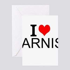 I Love Arnis Greeting Cards