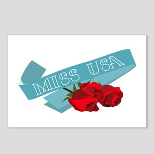 Miss USA Postcards (Package of 8)