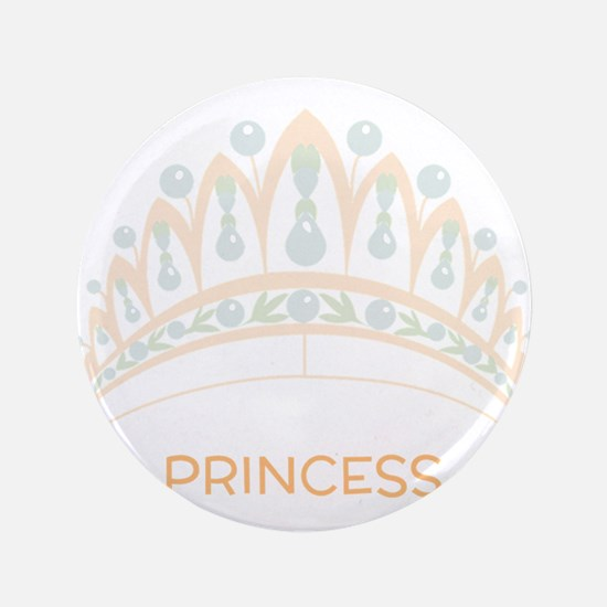 Princess Tiara Button