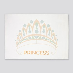 Princess Tiara 5'x7'Area Rug