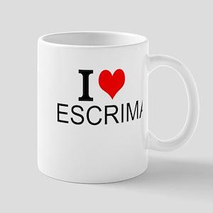 I Love Escrima Mugs