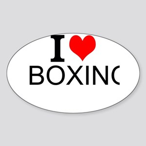 I Love Boxing Sticker