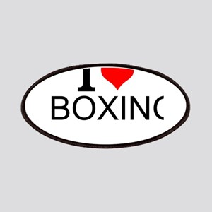 I Love Boxing Patch