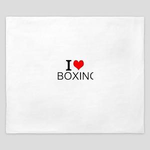 I Love Boxing King Duvet