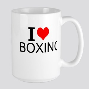 I Love Boxing Mugs