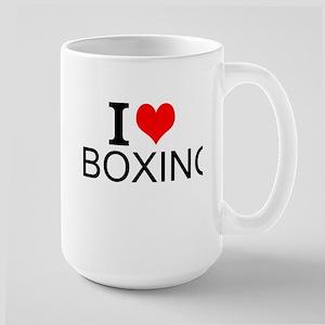 I Love Boxing Mugs