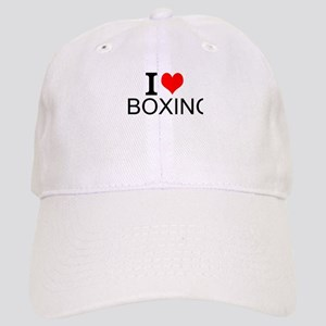 I Love Boxing Baseball Cap