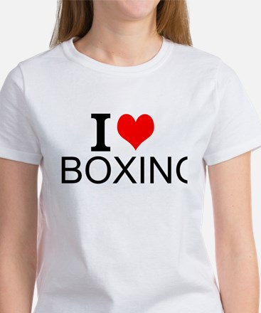 I Love Boxing T-Shirt