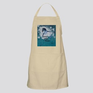 Creatively, Connected, Winter Glowe Apron