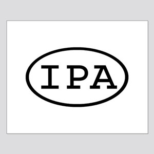 IPA Oval Small Poster